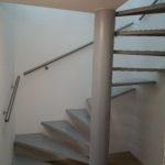 Točité schodiště ocel + lak