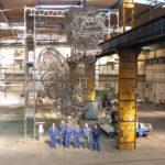 Nerez konstrukce - největší svítidlo světa