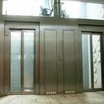 Portál výtahů z nerez oceli SP938