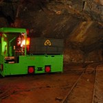 Důlní lokomotiva