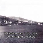 Domy štajgrů a ředitele kolem roku 1920