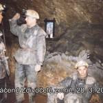 Natáčení Zdivočelé země 28.03.2000