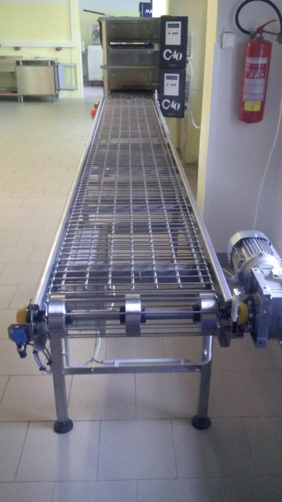 Dopravník s drátěným pásem 309