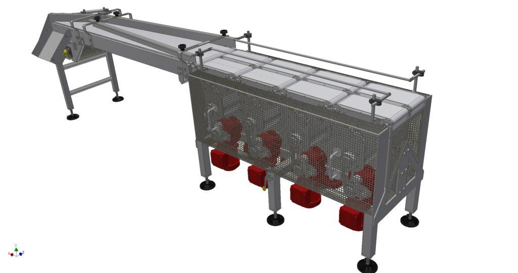 Systém pro řazení výrobků