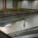 Nosník svítidel metro PALMOVKA