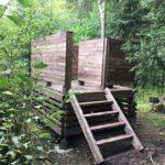 Nerezová WC mísa a poklopy pro projekt Lesní toaleta